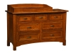 West Lake 7 Drawer Dresser-With Changer-OT