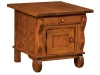 Hampton Cabinet End Table-IH