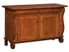 Hampton Cabinet Sofa Table-IH