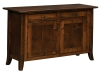 Dresbach Cabinet Sofa Table-IH