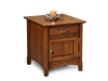 West Lake Enclosed End Table: FVET-WL-EN-FV