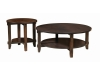 Bungalow Round Occasional Tables-SZ