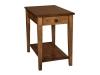 Carriage End Table: HCSTDL-HB