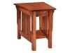 Leah Wedge End Table: LE1622WG-CV