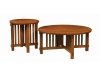 Rio Mission Round Occasional Tables-SZ