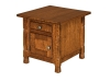 Rock Island Cabinet End Table-IH