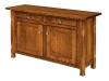 Rock Island Cabinet Sofa Table-IH