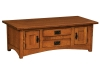 Arts & Crafts Cabinet Coffee Table-IH