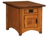 Arts & Crafts Cabinet End Table-IH