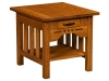 Boulder Creek End Table-IH