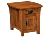 Craftsman Cabinet End Table-IH