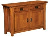 Craftsman Cabinet Sofa Table-IH