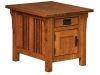 Elliot Cabinet End Table-IH
