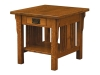 Elliot Mission End Table-IH