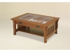 Landmark Glass Top Coffee Table-LM3038GLC-CV