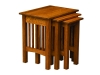 Mission Nesting Table Set-SP