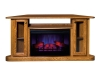 107C-Cozy Glow Corner Fireplace-TI