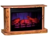 108A-Cozy Glow Cedar Fireplace-TI
