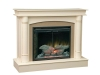 Regal Fireplace: with Optional Surround -CS