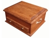 J050800-Deluxe Jewelry Chest-Plain Lid-SP
