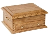 J050801-Deluxe Jewelry Chest-Plain Lid-SP