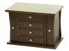 J060309-4 Drawer Caledonia Jewelry Chest-SP