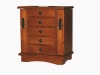 J060352-5 Drawer Mission Jewelry Chest-SP