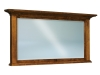 JRE-031-Empire Beveled Square Post Crown Mirror-JR