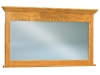 JRH-038-Hoosier Heritage Solid Crown Chest Mirror-JR