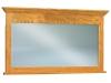 JRH-038-Hoosier Heritage Solid Crown Chest Mirror-JR