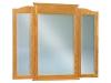 JRH-046-Hoosier Heritage Beveled Tri-View Mirror-JR
