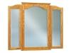 JRH-047-Hoosier Heritage Beveled Arch Tri-View Mirror-JR