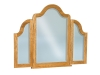 JRH-049-Hoosier Heritage Beveled Waterfall Tri-View Mirror-JR