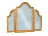 JRH-049-Hoosier Heritage Beveled Waterfall Tri-View Mirror-JR