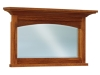 JRK-038-Kascade Beveled Arch His & Hers Mirror-JR