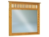 JRM-030-Royal Slat Mission Mule Dresser Mirror-JR