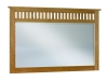 JRM-031-Royal Slat Mission Mule Dresser Mirror-JR