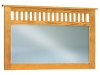 JRM-038-Royal Slat Mission Beveled Chest Mirror-JR