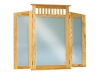 JRM-047-Royal Slat Mission Tri-View Mirror-JR