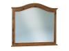 JRS-033-Shaker Arched Crown Dresser Mirror-JR