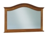 JRS-038-Shaker Beveled Arch Crown Mirror-JR