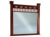 JRSQ-046-Sequoyah Beveled Mirror-JR