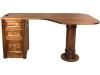Belmont Pedestal Desk: BO62RD-LN