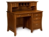 LA-158 Berkley Desk and LA-60 Hutch Top-LB