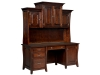 Berkley Desk/Credenza with Hutch Top-LB