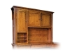 Boston Corner Desk Hutch: BO641447-LN