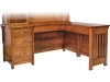 Boston Corner Desk: BO6456-LN