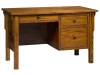 Centennial Single Pedestal Desk: LA-122-LB