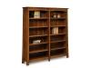 Modesto Double Bookcase-FV