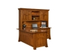 Bridgefort Mission Corner Desk-Back-LN